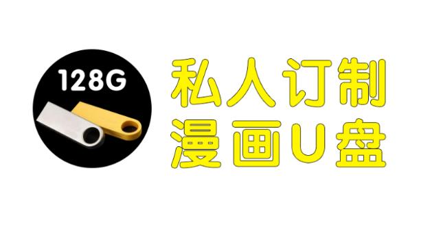 [推荐]128G漫画U盘定制